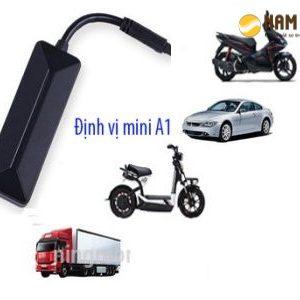 lắp định vị xe máy A1 mini