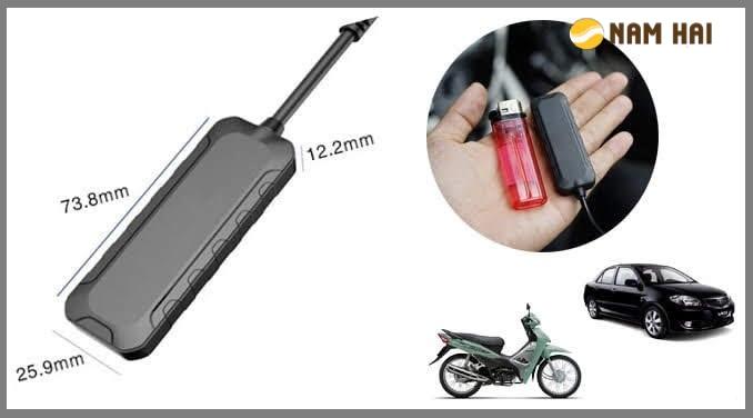 thiết bị định vị trên xe máy