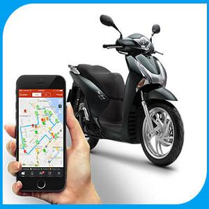 bộ định vị GPS cho xe máy