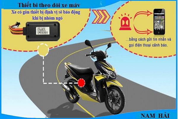 cung cấp thiết bị theo dõi xe máy