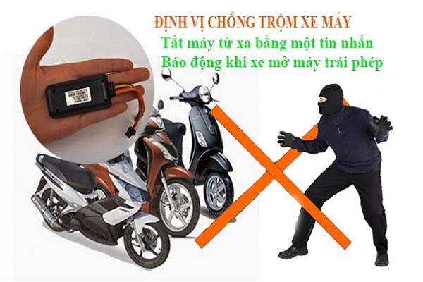 Định vị xe máy chống trộm