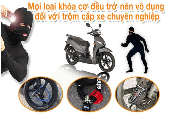 Định vị chống trộm xe máy