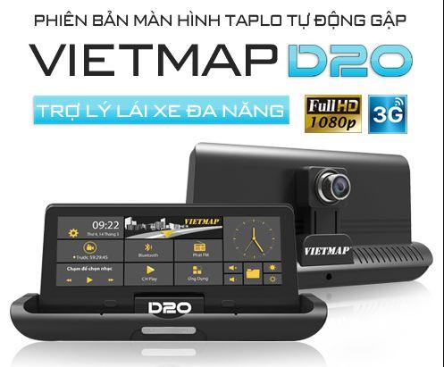 thiết bị dẫn đường Vietmap D20