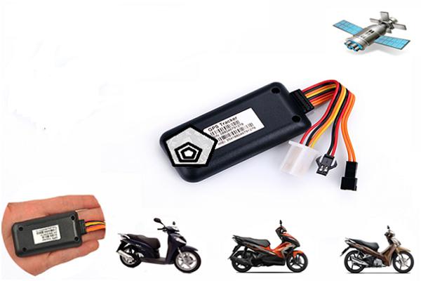 gắn thiết bị định vị cho xe máy