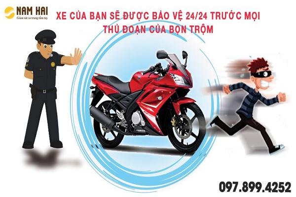 Thiết bị định vị chống mất cắp xe máy